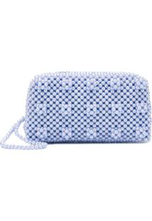 Shrimps Molly Clutch Bag - Azul