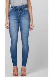 Calça Azul Jeans Super Skinny