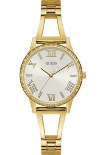 Relógio Guess Feminino Aço Dourado - W1208L2