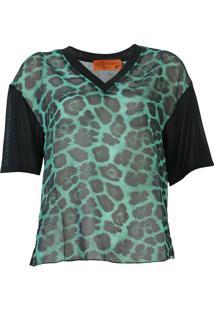 Blusa Ellus New Jaguar Verde