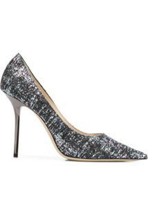 Jimmy Choo Scarpin Love 100 - Preto