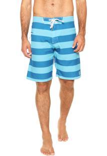 Bermuda Redley Listras Azul