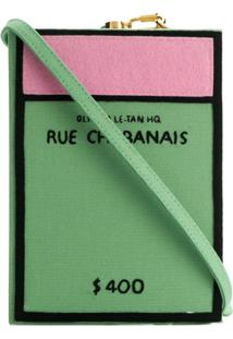 Olympia Le-Tan Bolsa Clutch 'Rue Chabanais' - Verde
