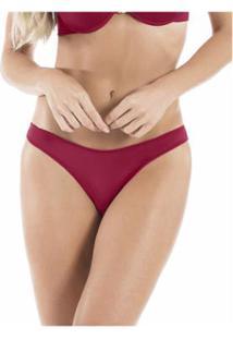Calcinha Fio Dental 2 Rios Extremo Conforto - Feminino-Vermelho