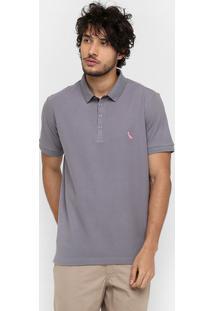 ... Camisas Polo Reserva Piquet Poa Color Bordado Logo 22837 - Masculino 23938b113b366