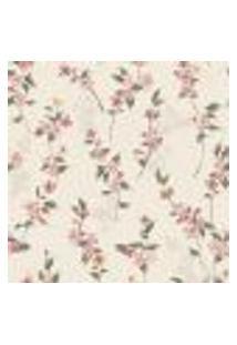Papel De Parede Autocolante Rolo 0,58 X 3M Floral 188270534