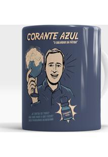 Caneca Corante Azul