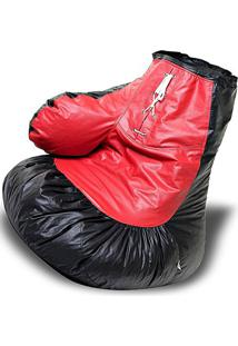 Puff Luva De Box Nobre - Vermelha E Preta - Stay Puff