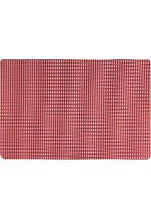 Jogo Americano Mesafix 45 X 30Cm Vermelho