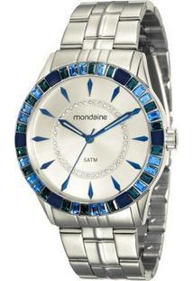 Relógio Mondaine Feminino - Feminino-Prata