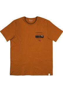 Camiseta Masculina Hering Com Estampa Costas