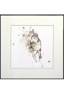 Quadro Decorativo Bird Study Iii