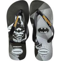 6dee3b0f84 Chinelo Havaianas Batman Masculino - Masculino-Preto