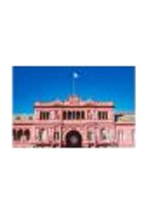 Painel Adesivo De Parede - Buenos Aires - Argentina - Casa Rosada - 1728Png