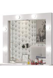 Penteadeira Camarim Com Espelho Romance Mavaular Branco