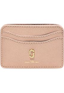 Marc Jacobs Clutch The Softshot Pearlized - Rosa