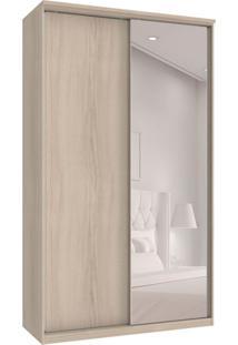 Guarda-Roupa Solteiro Com Espelho Premium Max 2 Pt 3 Gv Rovere