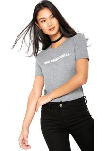 Camiseta Lacoste Manga Curta feminina   Shoelover 0546a997f4