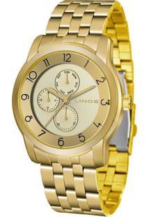 Relógio Feminino Lince Lmg4589L-C2Kx Analógico