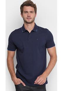 Camisa Polo Ellus Piquet Frisos Clássica Masculina - Masculino