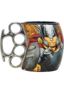 Caneca Soco Inglês Thor Geek10 - Multicolorido