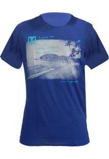 Camiseta Mormaii Neblask - Masculino-Azul