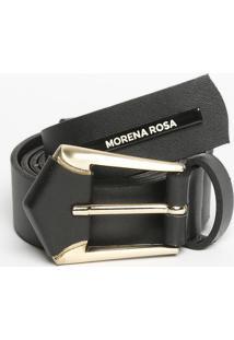 Cinto Com Tag- Preto- 3,5X104Cm- Morena Rosamorena Rosa
