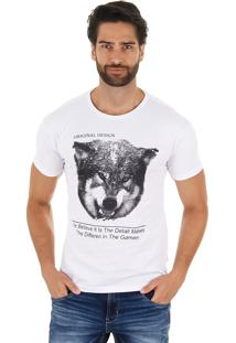 Camiseta Lobo Masculina Maidale
