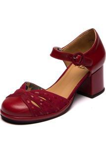 Sapato Amora / Marsala - Grace Kelly 5860
