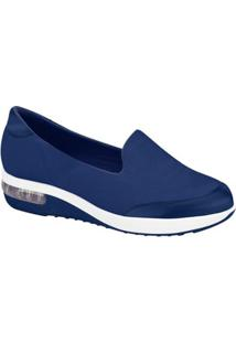 Tênis Modare Slipper Lycra - Feminino-Azul