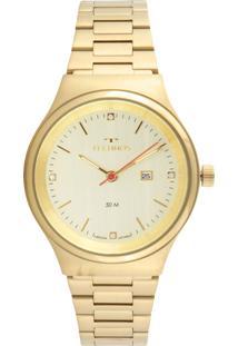 Relógio Technos 2015Cbz/4X Dourado