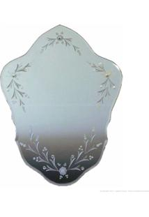 Espelho Decorativo Escudo I Prata - Antonio E Filhos