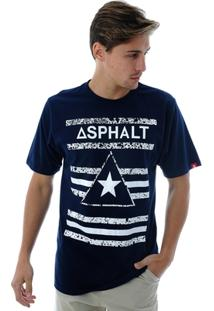 Camiseta Asphalt Delta Star - Masculino