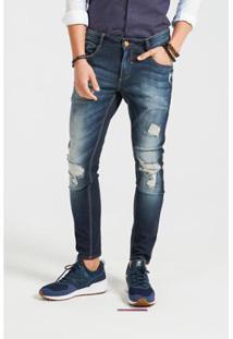 Calça Docthos Jeans Destroyed - Masculino