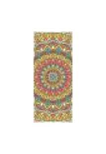 Adesivo Decorativo De Porta - Mandala - 2415Cnpt