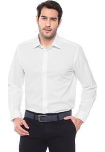 Camisa Dudalina Slim Lisa Branca