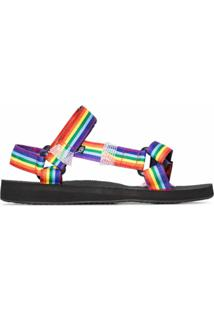 Arizona Love Sandália Rainbow Trekky - Preto