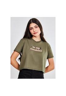 Camiseta Cropped Be My Sunshine