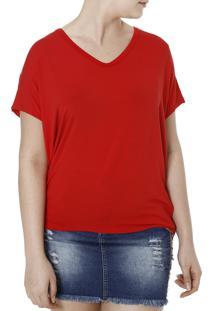 Blusa Regata Autentique Vermelho