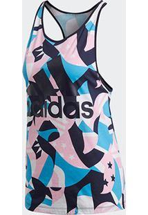 Regata Adidas Sid Tank Aop Feminina