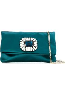 Jimmy Choo Clutch 'Titania' - Azul