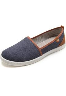 Alpargata Mississipi Comfort Azul-Marinho
