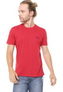 Camiseta Ellus São Paulo Vermelha
