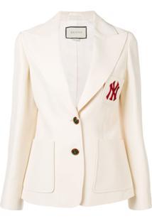 Gucci Ny Yankees™ Patch Blazer - Branco