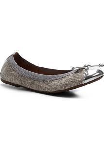 Sapatilha Shoestock Elástico Lurex