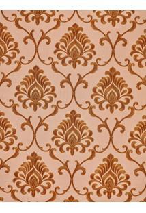 Papel De Parede Vinílico Lavável Maya Wallpaper 0,53 X 9,5M Arabesco Dourado