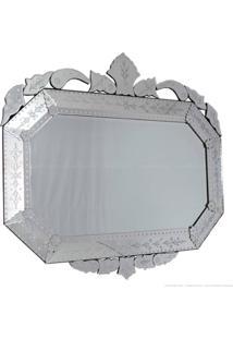Espelho Decorativo 1048 Prata - Antonio E Filhos