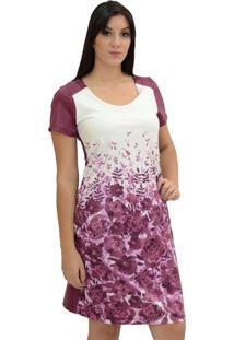 Vestido Energia Fashion Lilás
