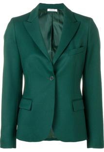 P.A.R.O.S.H. Blazer 'Liliud' - Verde