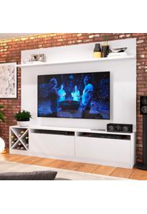 Estante Home Para Tv Até 60 Polegadas Bianca Branco